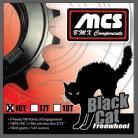 "MCS BLACK CAT CR-MO 3/32"" 16T FREEWHEEL BLACK"